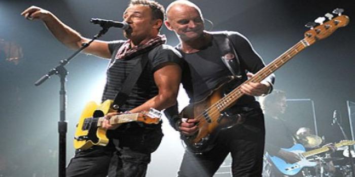Sting y Bruce Springsteen unen sus voces para recaudar fondos por la Amazonía