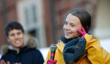 Revista Nature sitúa a Greta Thunberg en el