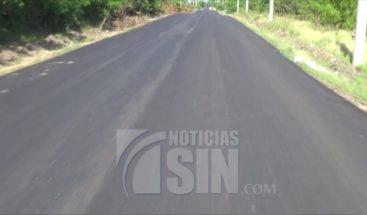 Comienzan asfaltado de carretera en Dajabón tras reportes de Noticias SIN
