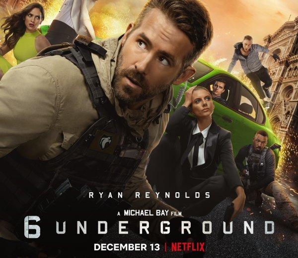 Ryan Reynolds: rodar a las órdenes de Michael Bay fue como un viaje salvaje