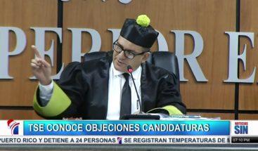 TSE delibera fallos a objeciones de 15 candidaturas municipales y congresuales