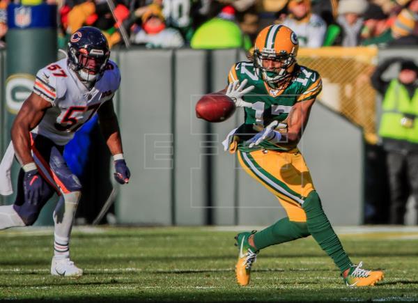 21-13. Jones y Adams se combinan y los Packers siguen dominando a los Bears