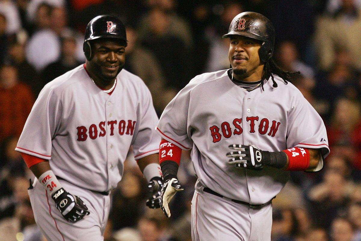 David Ortiz y Manny Ramírez electos al Salón de la Fama de Red Sox