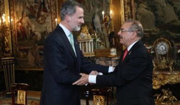 Rey Felipe recibe a Medina en Palacio Real de Madrid