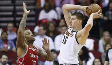 NBA: Nuggets y Rockets recuperan la senda ganadora
