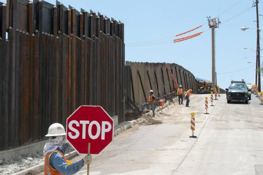 Juez en EE.UU. bloquea otra partida de Trump para el muro fronterizo