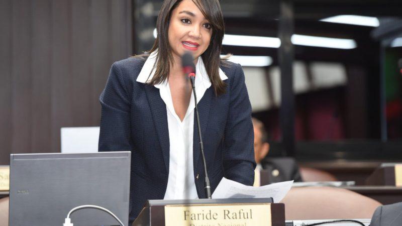 Faride Raful deposita proyecto de ley que sanciona uso de recursos públicos en campañas electorales