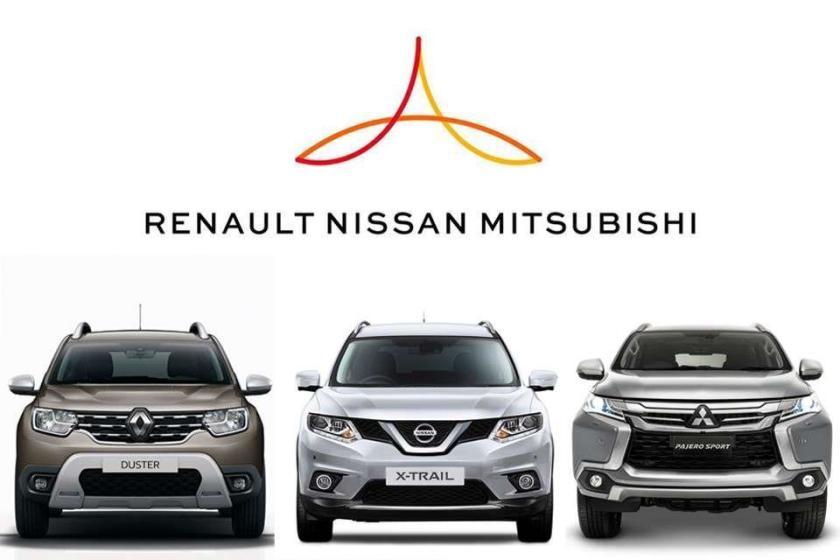 Renault, Nissan y Mitsubishi se reparten las regiones y las tecnologías