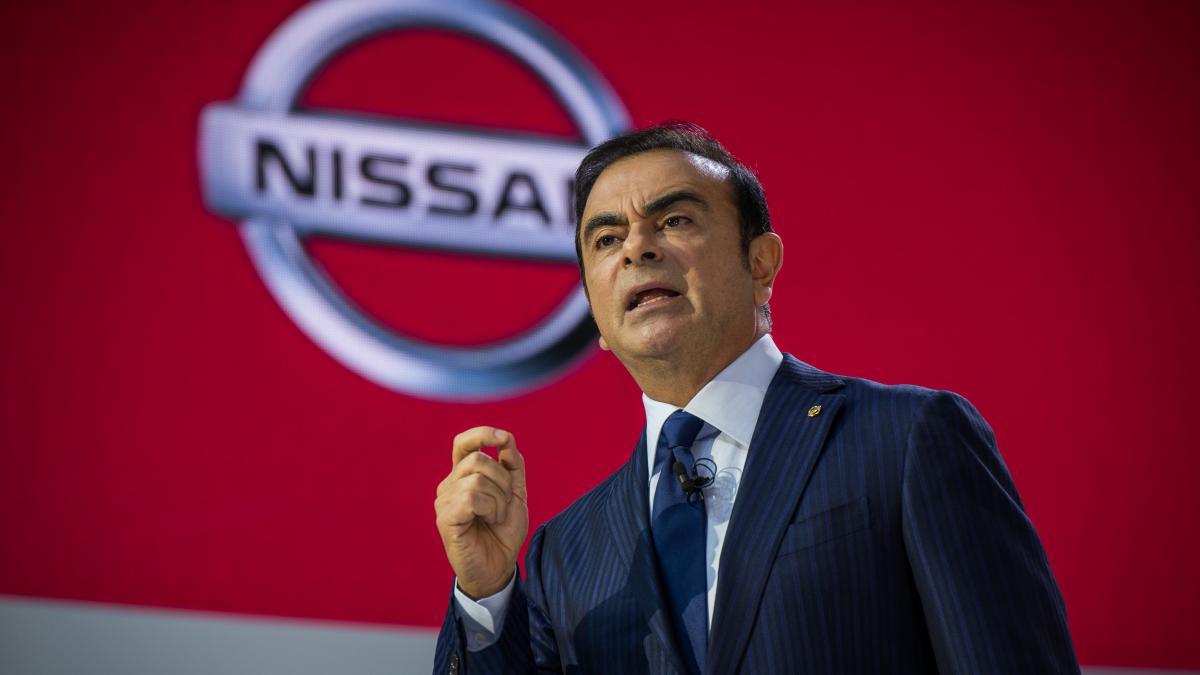 Ghosn usó fondos de Nissan para eventos y viajes personales, según la empresa