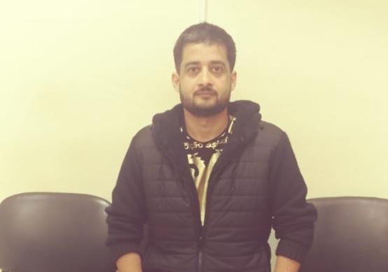 Por perfil sospechoso pakistaníes detenido en la frontera