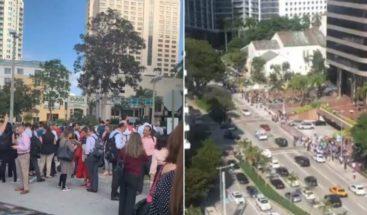 Evacuan edificios en Miami por terremoto de 7,7 entre Cuba y Jamaica