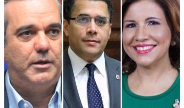 Abinader, Collado y Margarita únicas figuras con opinión positiva, según encuesta Mark Penn/Stagwell