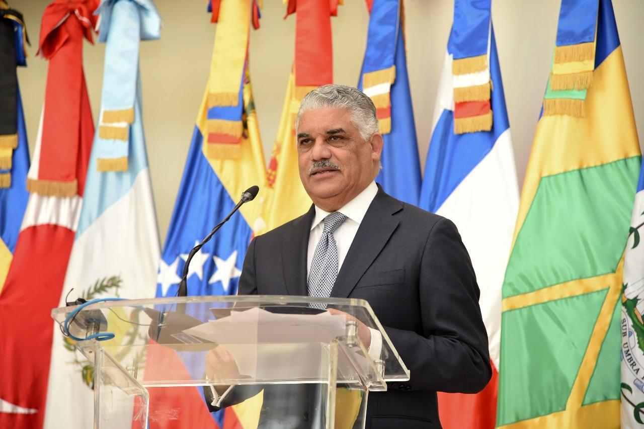Canciller Miguel Vargas viajará a Jamaica a reunión con Pompeo