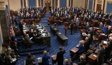 Senado EEUU abre el juicio contra Trump con otro informe que le acusa de violar la ley