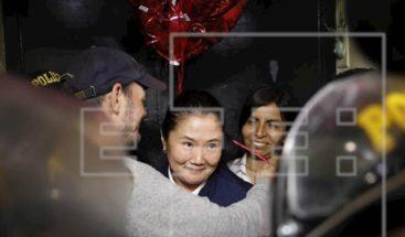 Keiko Fujimori regresará a prisión preventiva por un plazo de 15 meses