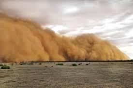 Impresionantes tormentas de polvo y granizo que azotaron Australia, todavía afectada por incendios