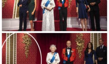 Retiran las estatuas de Harry y Meghan del museo de cera en Londres