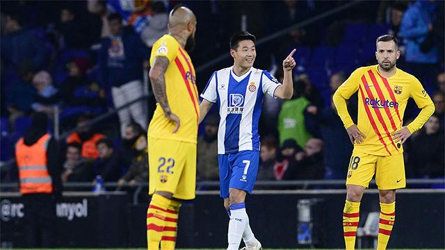 Medios y redes sociales chinas enloquecen con el gol de Wu Lei al Barcelona