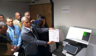 JCE inicia impresión del padrón electoral para comicios municipales de febrero