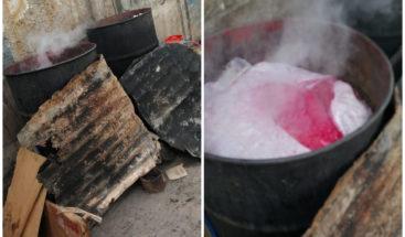 Pro Consumidor prohíbe hervir alimentos en tanques de hierro en Mercado Nuevo de la Duarte