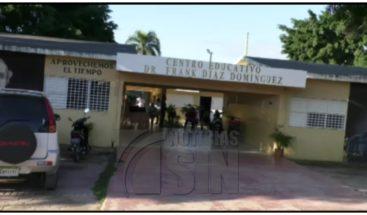 Desconocidos roban laptops y $RD30 mil en una escuela en Moca