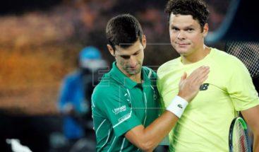 Djokovic a paso de gigante y se enfrentará con Federer en semifinales