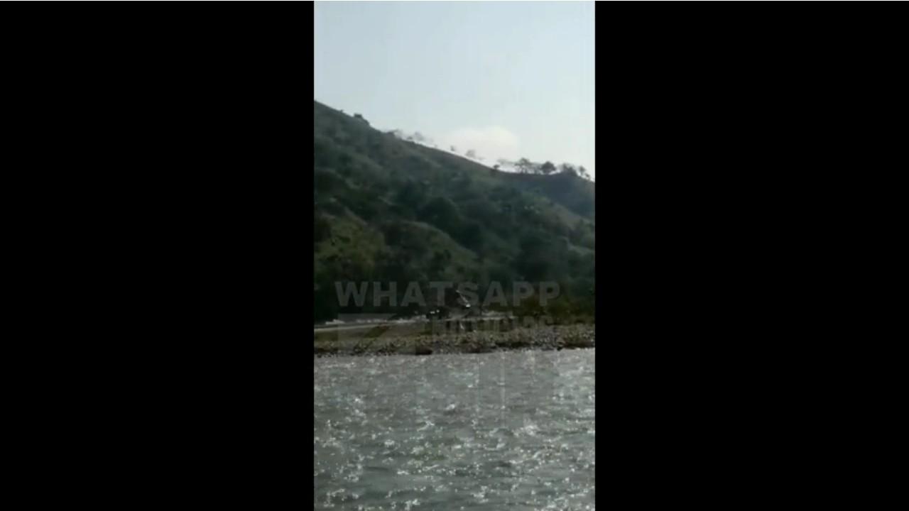 Denuncian desaprensivos sacan material del Río Yuna