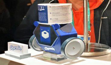 P&G presenta un robot que te trae papel higiénico cuando más lo necesitas