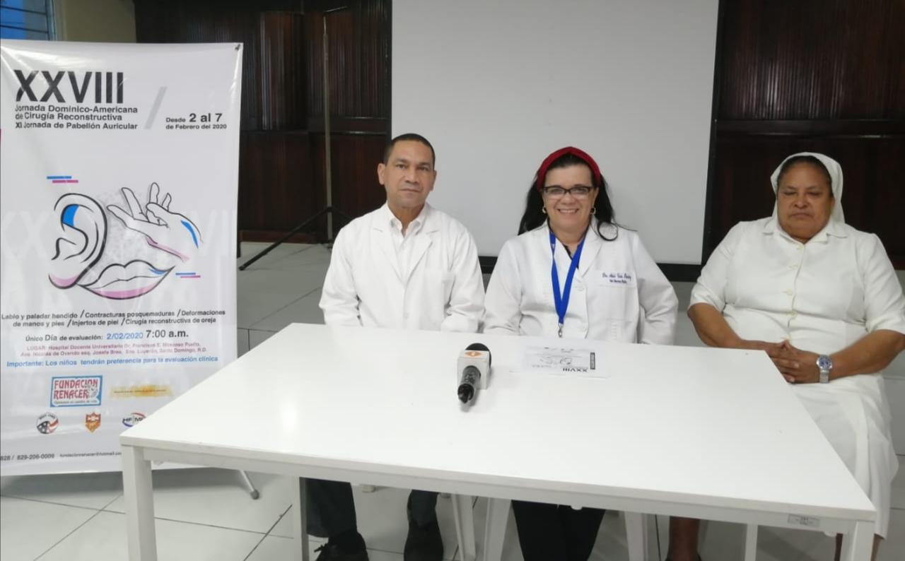 Anuncian nueva jornada de cirugía reconstructiva para niños y adultos