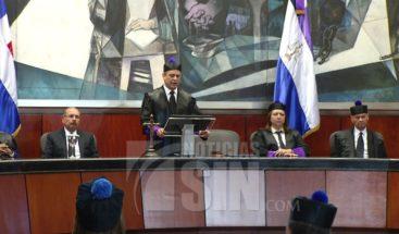 Presidente SCJ llama a jueces actuar con independencia en el Día del Poder Judicial