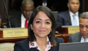Faride Raful revela no participará en debate de ANJE por decisión partidaria