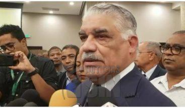 Miguel Vargas resalta alianza entre PRD y PLD para elecciones municipales