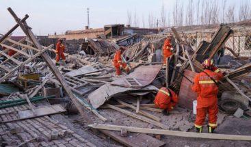 Al menos un muerto y dos heridos tras un terremoto en el noroeste de China