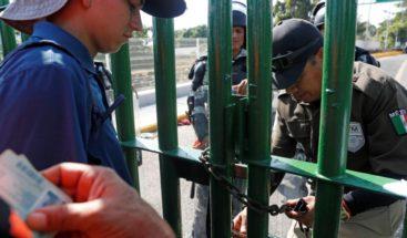 Más de 730 hondureños de la caravana pasan la frontera de Guatemala y México