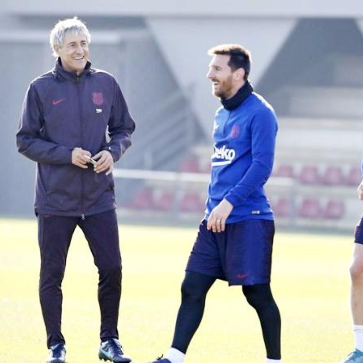 Setién recupera a Messi, Busquets y Piqué para jugar en Mestalla