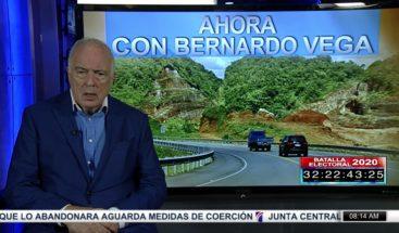 Bernardo Vega habla sobre la autopista de Samaná