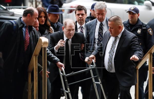 Juez del caso Weinstein evalúa nuevas pruebas y rechaza testigo de la defensa