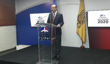 Presidente de la JCE llama a que se recobre la calma y la paz