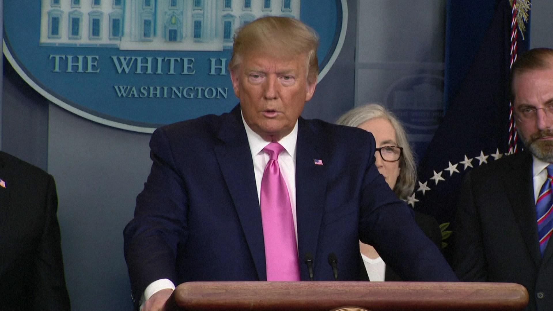 Donald Trump asegura EEUU está preparado para afrontar el coronavirus