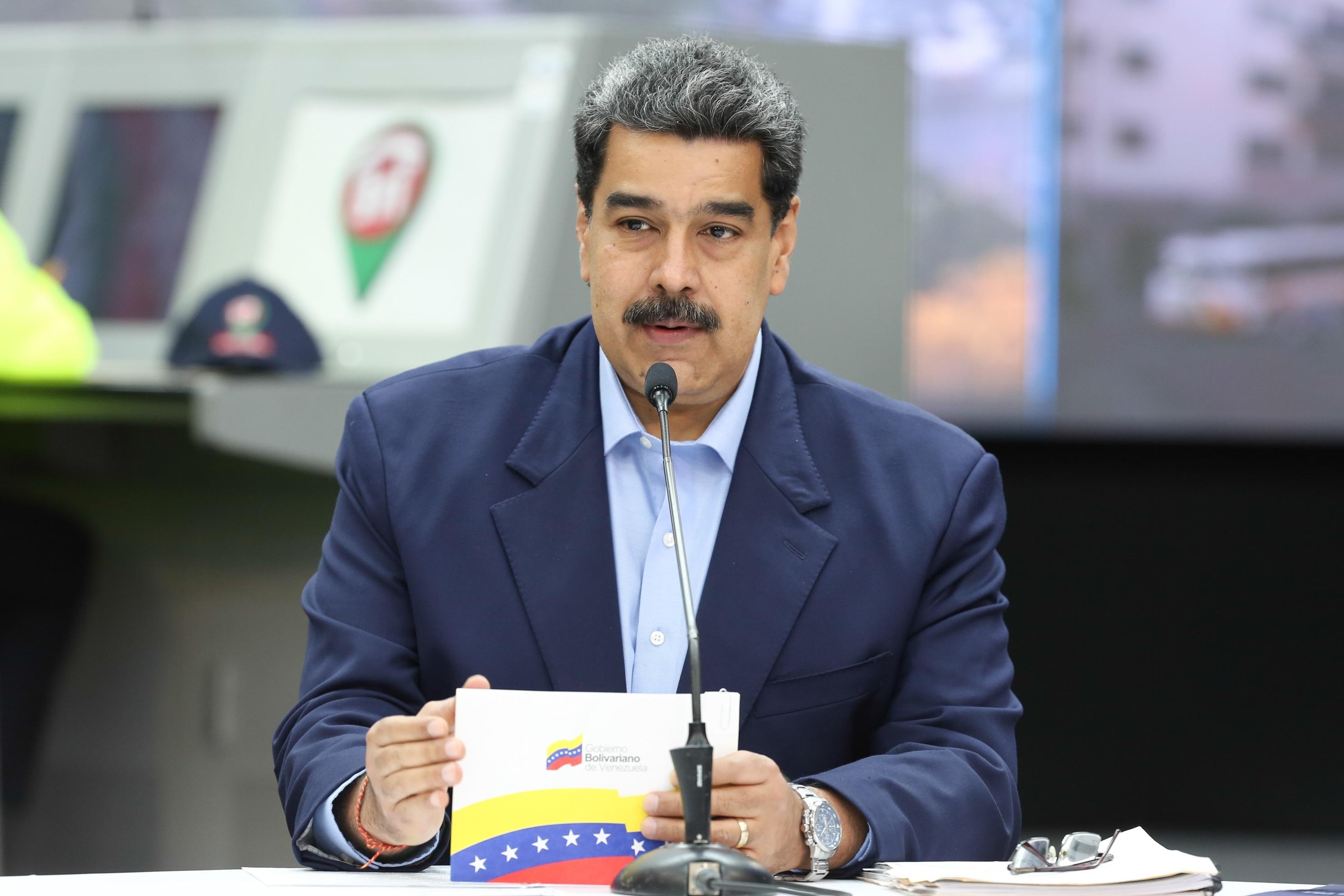 Maduro dice que está dispuesto a conversar