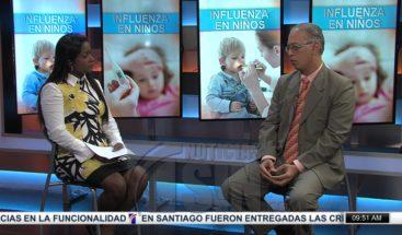 Aprenda a prevenir y a manejar la influenza en los niños