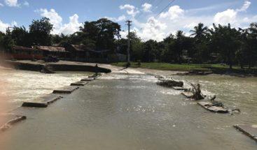 A punto de colapsar puente en Los Ciruelos de Montellano