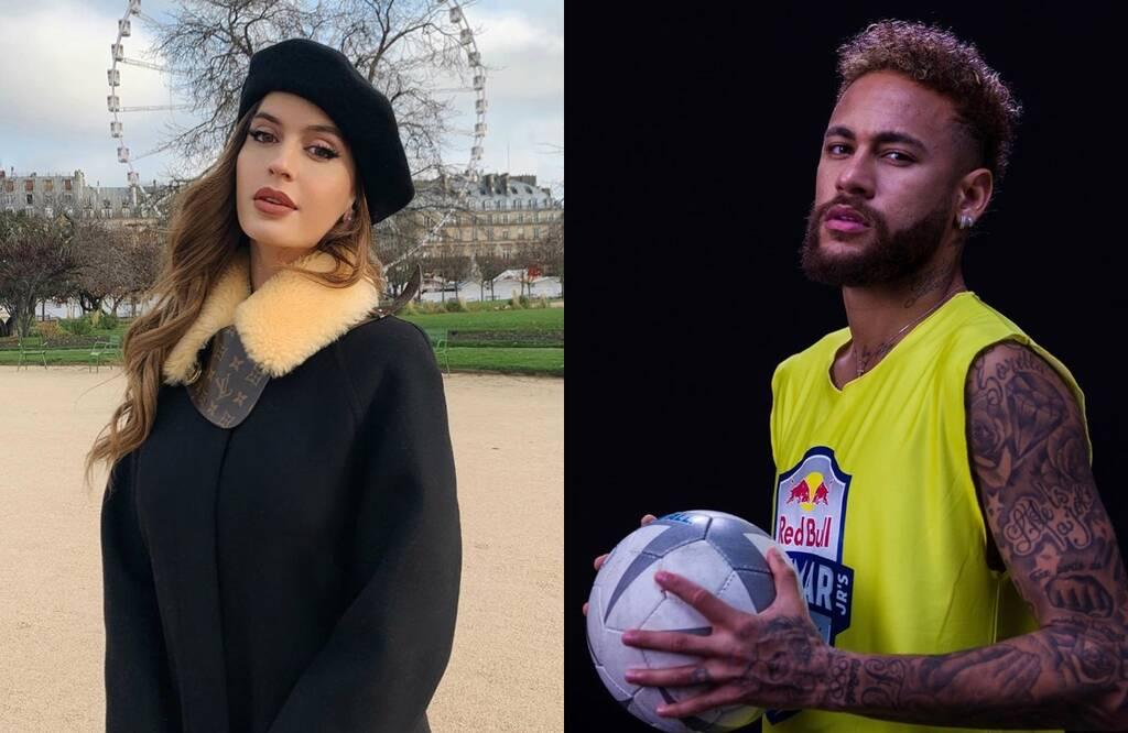 Esto confirmaría el romance de la ex novia de Maluma con Neymar
