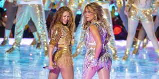El final de la actuación de Shakira y Jennifer López en el Super Bowl que no se vio en TV