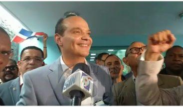 Ramfis Trujillo deposita ante el TSE instancia para revisión anulación de candidatura