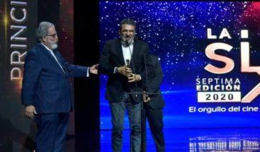 Miriam Miente, ganadora de la mejor película en Premios La Silla