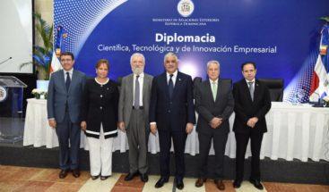 Canciller preside lanzamiento de Diplomacia Científica, Tecnológica e Innovación Empresarial