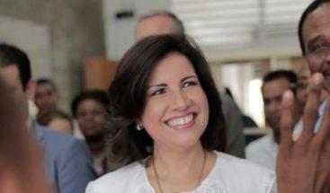 Vicepresidenta Margarita Cedeño hablará esta noche