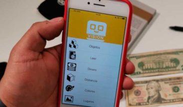 Crean app para que personas con discapacidad visual tengan más independencia