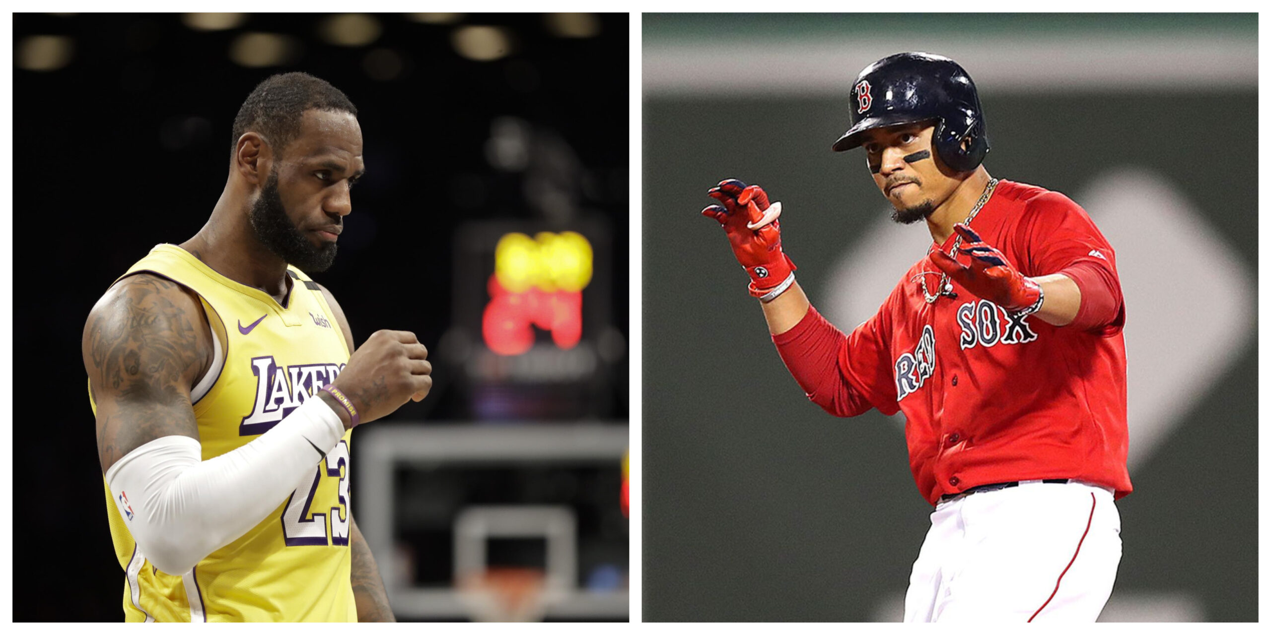 Lebron James responde acerca de la llegada de Mookie Betts a los Angeles Dodgers